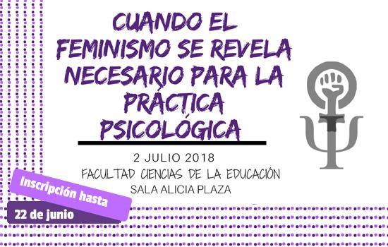 CUANDO EL FEMINISMO SE REVELA NECESARIO PARA LA PRÁCTICA PSICOLÓGICA