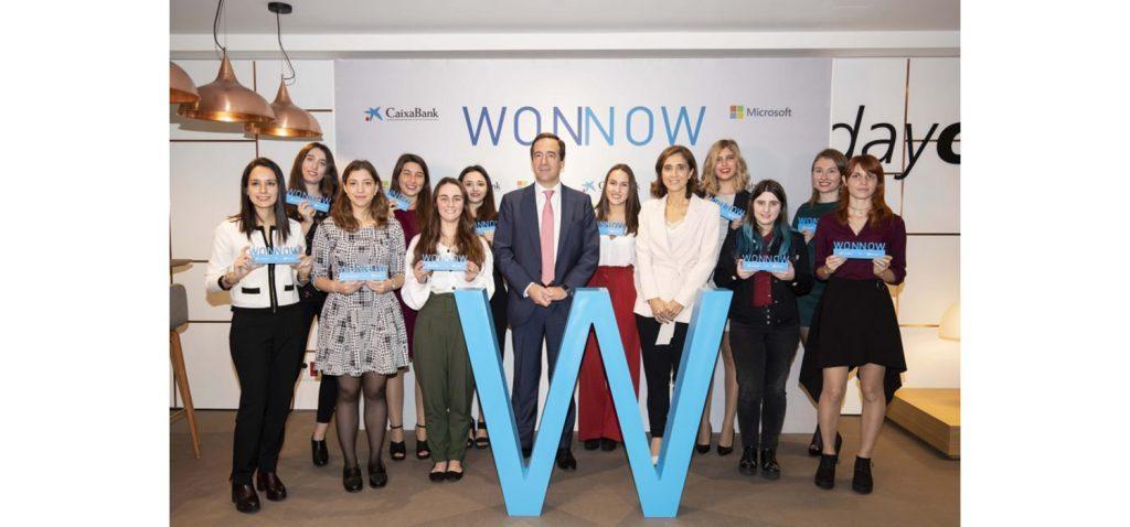 La estudiante de la UCA Carlota Armillas gana el premio WONNOW 2018 al mejor expediente académico de España