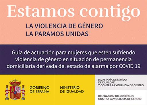 IMG Guía de actuación para mujeres que estén sufriendo violencia de género en situación de permanencia domiciliaria derivada del estado de alarma por COVID-19