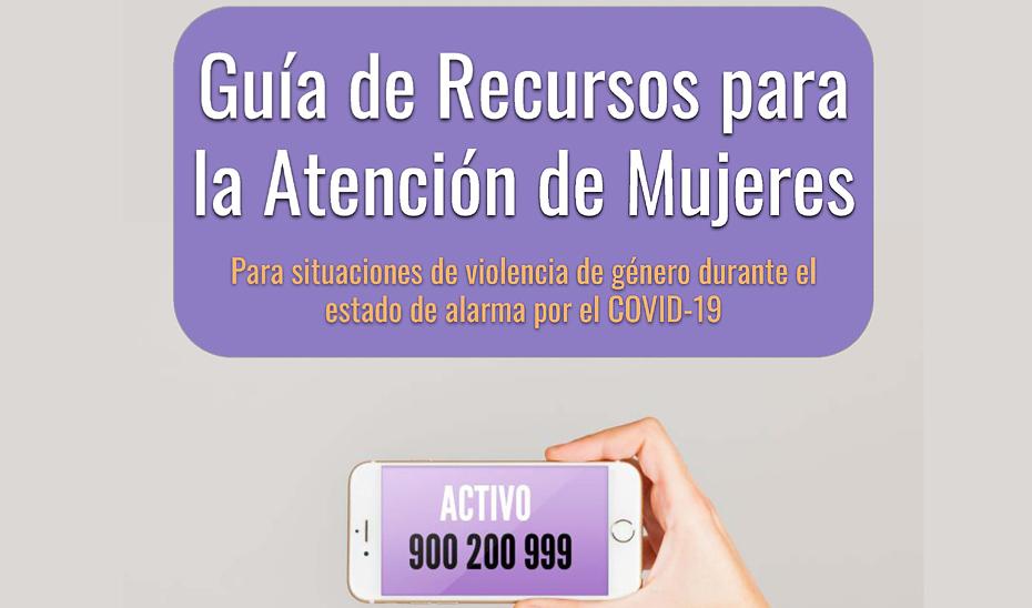 IMG Guía de Recursos para la Atención de Mujeres para situaciones de violencia de género durante el estado de alarma por el COVID-19