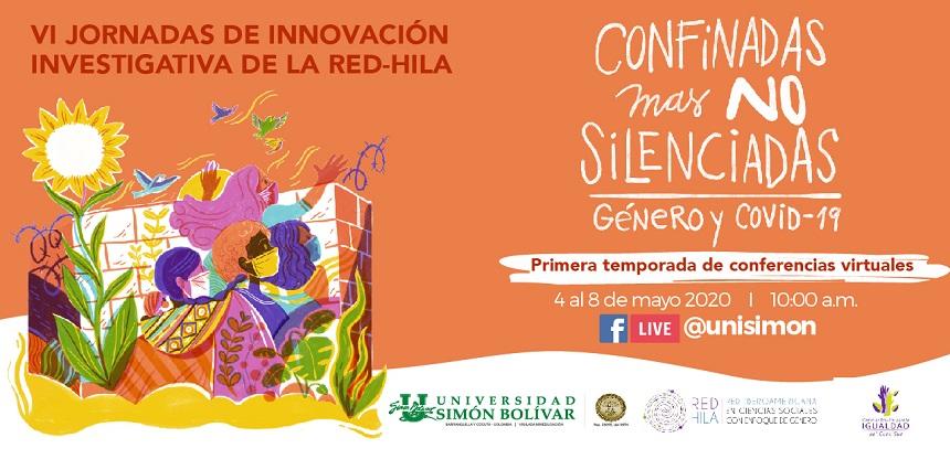 IMG Jornadas de Innovación investigativa: Confinadas mas no Silenciadas. Género y Covid-19