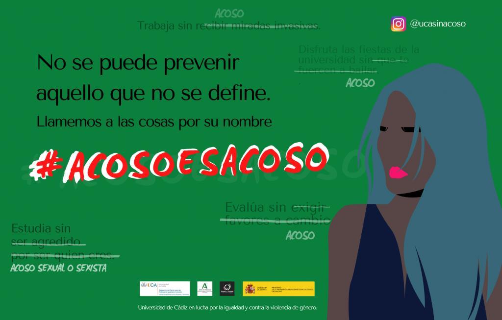 Campaña de sensibilización para la prevención del acoso sexual y del acoso sexista en las Universidades Andaluzas