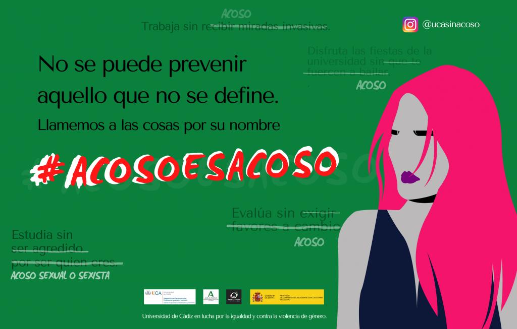 IMG Campaña de sensibilización para la prevención del acoso sexual y del acoso sexista en las Universidades Andaluzas