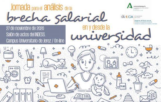Jornada para el análisis de la brecha salarial en y desde la universidad