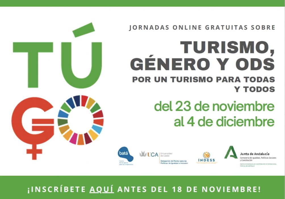 Jornadas Turismo, género y ODS: Por un turismo para todas y todos