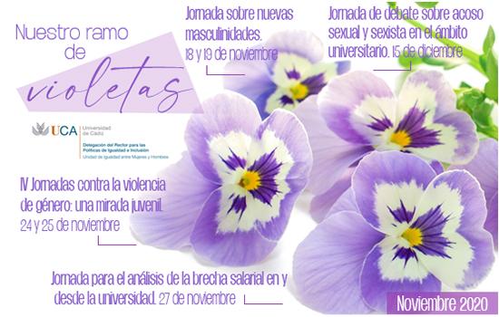 IMG Nuestro ramo de violetas.