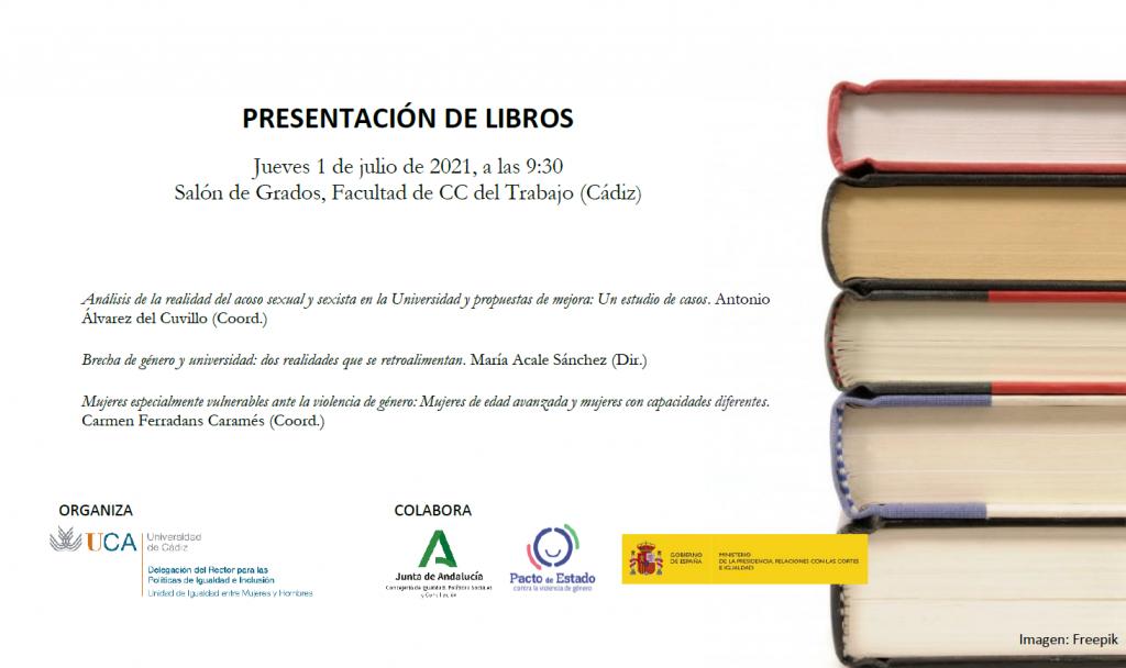 IMG Presentación de libros- Delegación Igualdad e Inclusión